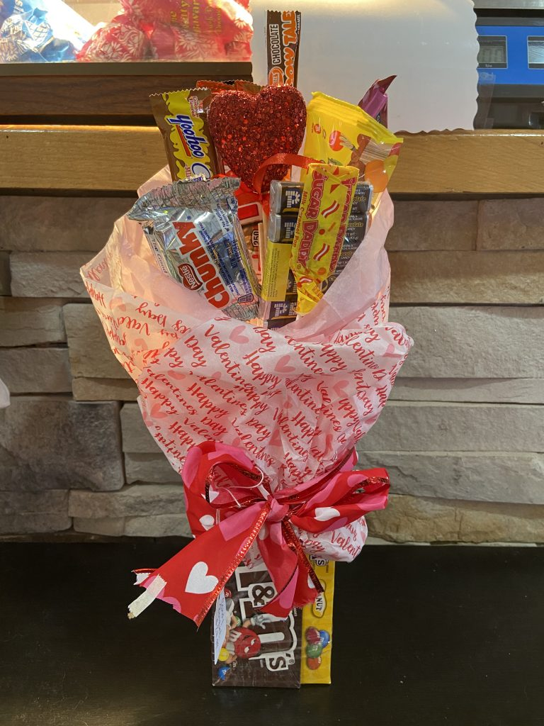 Small M&M Bouquet