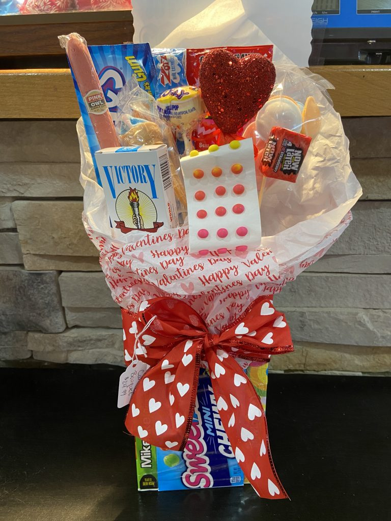 Old Fashioned Candy Bouquet
